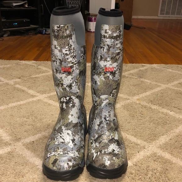 70a360d57ca Sitka Lacrosse 18' ALPHABURLY 800G Hunting Boots